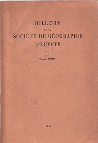Bulletin de la société de géographie d'egypte / tome XXX1: de vaumas: l'age exact de la grande nappe volcanique de la syrie du nord