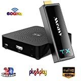 Measy W2H Mini II 2 Extendeur HDMI sans Fil Full HD 1080p Non compressé (émetteur récepteur) Bande DE 60 GHz Jusqu'à 100 FT / 30M cinéma Maison numérique, éducation, salles de réunion