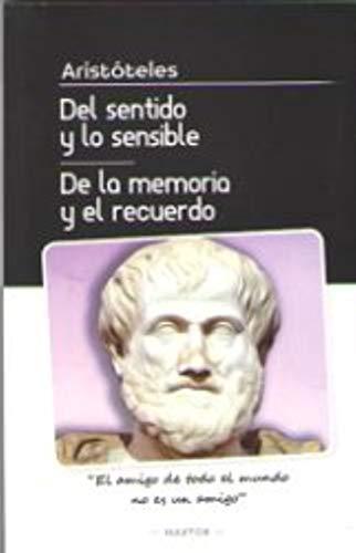 Del Sentido Y Lo Sensible De La Memoria Y El Recuerdo descarga pdf epub mobi fb2