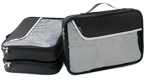 ALPAMAYO Kofferorganizer 3er Set für T-Shirts und Unterwäsche für mehr Ordnung und Struktur im Koffer