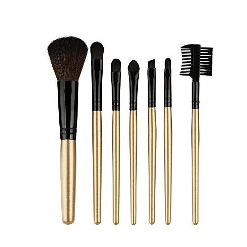 Pinceaux Maquillages Professionnel Yeux 7 Pcs Maquillage Bois Pinceau à PaupièRes CosméTiques Outil De MéLange Pas Cher Teint Real Techniques Fond Poudre