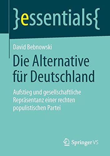 Die Alternative für Deutschland (essentials)