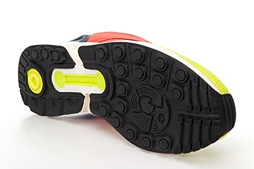 Adidas ZX Flux Slip On, semi solar yellow-hi-res red-bold onix semi solar yellow-hi-res red-bold onix