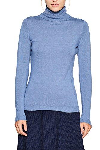 ESPRIT Damen Pullover 097EE1I035, Blau (Light Blue 5 444), XX-Large