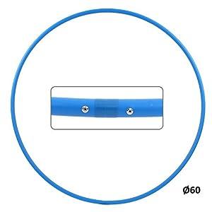 Hoopomania® Hula Hoop Rohling, HDPE-16mm, farbig, Ø60/70/80/90/100cm