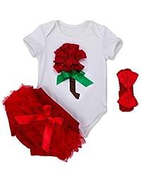 Juleya Enfant Clothing Sets Cotton Bodysuits Valentine Birthday Clothes