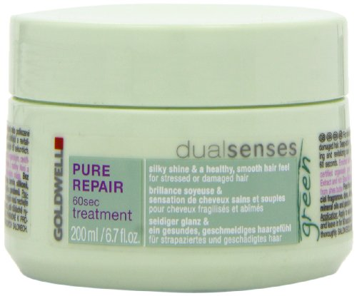 Goldwell Dualsenses Green Pure Repair 60 sec Treatment, 200 ml, 1er Pack, (1x 200 ml)