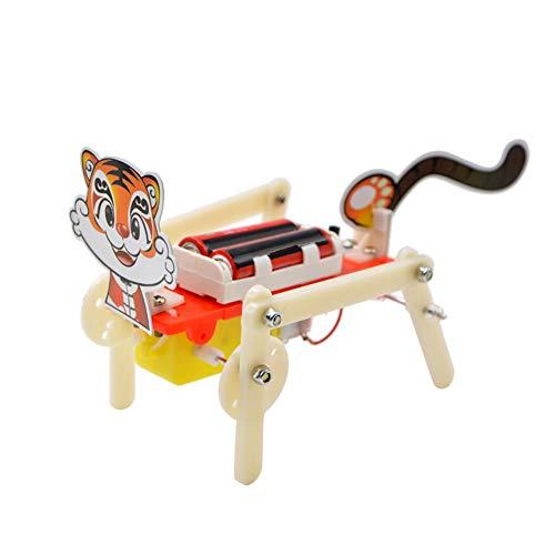 xMxDESiZ 4 Fuß Tier Roboter Spielzeug Studenten Wissenschaftliche Bildung Experiment Modell Trainingshilfe