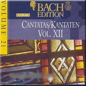 Bach Edition Vol.21, Cantatas Vol. XII (5 CD Set)