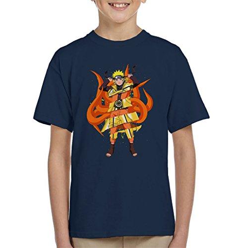 Cloud City 7 Naruto Kyuubi Fusion Kid's T-Shirt (Kyuubi Naruto)