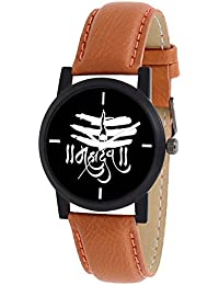 Scarter Mahadev Black Dial Analog Watch For Boys And Men-MH-Black-2