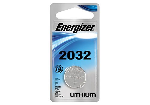 1 X Energizer CR2032 3V Lithium Coin Cell Battery