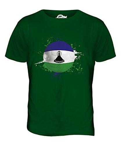 CandyMix Lesotho Fußball Herren T Shirt Flaschengrün