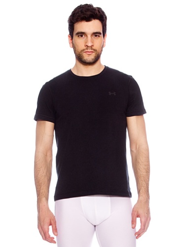 Under Armour T-shirt Charged Crew nero
