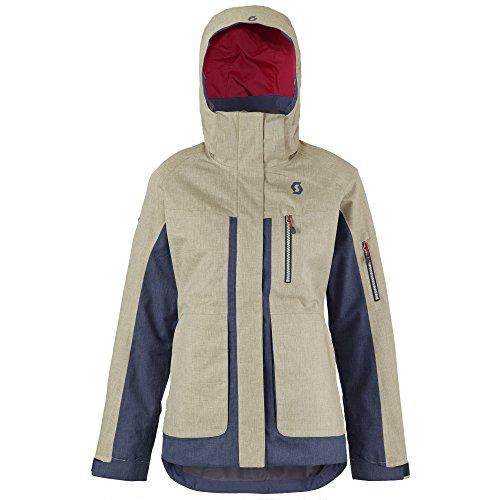 Scott Jacket Ultimate Dryo sand grey heather/blue night heather Gr XL