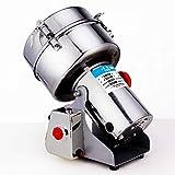 YAMEIJIA Gewerbliche Kaffeemühle 2000 Edelstahl-Schwingmühlenpulver kleine ultrafeine NWE-Maschine