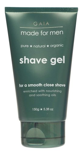 GAIA SKIN NATURALS GAIA MADE FOR MEN SHAVE GEL