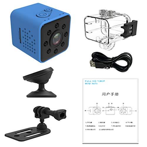 H HILABEE Infrarot-Auto-DVR-Kamera Dashcam DVR Recorder Videokamera mit 155° Ultra-Weitwinkelobjektiv - Blau