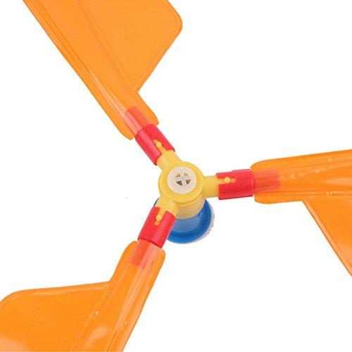 Letter54_Spielzeuge_Okt Ballon Helikopter mit Gyros, Fliegende Spielzeug für Kindergeburtstag Xmas Party Tasche Strumpf Füller Geschenk
