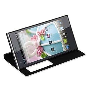 Smartphone 2Go RAM+16Go ROM Grande 5,0 Pouces HD IPS Ecran CUBOT S308 Quad Core MTK6582 1.3GHz Google Android 4.2 Dual SIM WIFI GPS FM Bluetooth –résolution 1280 x 720 mégapixel- Noir- pour opérateur orange, SFR, Bouygues, Virgin, Free ISYS, Lebara, Numericable Dommel, Mobistar etc.