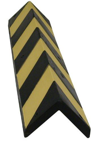 Preisvergleich Produktbild Viso SQ818 Eckschutz,  aus Gummi,  Schwarz / Gelb
