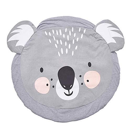 Rejoicing Baby Crawling Coperte Cute Animal Tappeto da Gioco Morbido Cotone Baby Kids Gioco Palestra Tappetino Tappeto per Gattonare per Bambini Bedroom Decor Living Room Rugs Koala