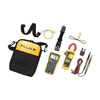 Fluke 116/323 HVAC Combo Kit - Includes Multimeter and Clamp Meter (B00DK8HBXS)   Amazon price tracker / tracking, Amazon price history charts, Amazon price watches, Amazon price drop alerts