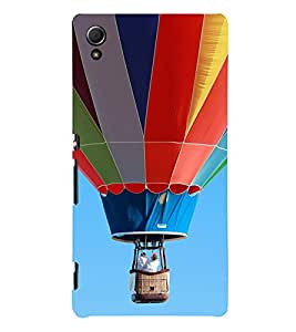 EPICCASE Up in the Air Mobile Back Case Cover For Sony Xperia Z4 Mini / Z4 Compact (Designer Case)
