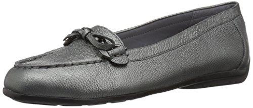 Easy Spirit Frauen Loafers Grau Groesse 7 US /38 EU (Frauen Grau Loafer)