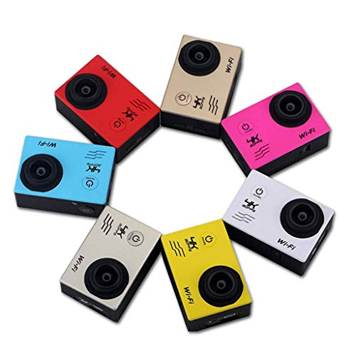 BXX Outdoor-Reisekamera-Action-Kameras F65 Mini Hd Waterproof Outdoor Dv-2.0,Silber grau