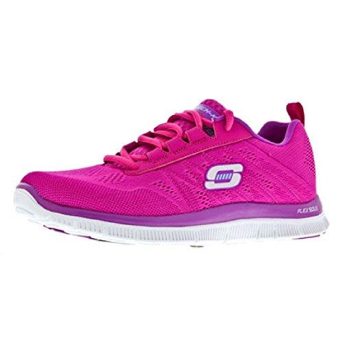 Skechers  Flex AppealSweet Spot,  Sneaker donna Multicolore(Bleu/Rose)