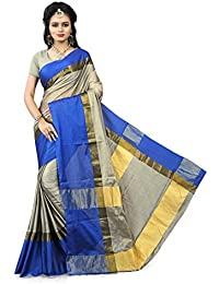 Gaurangi Creation Women's Art Silk Festive Wear Sarees (SSM1004_Blue_Free Size)