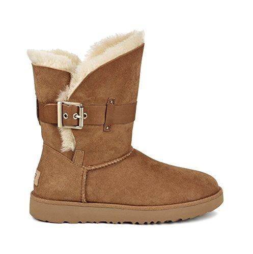Ugg Australia Womens Jaylyn Sheepskin Boots Chestnut