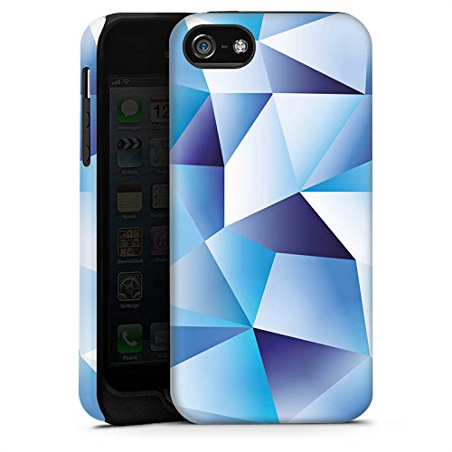 Apple iPhone X Silikon Hülle Case Schutzhülle Kristall Muster Struktur Tough Case matt