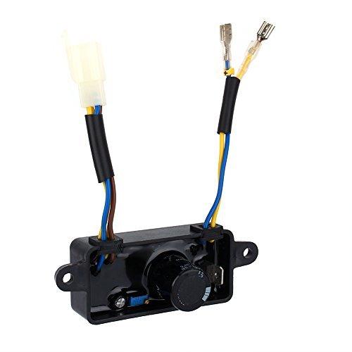 Generator-einphasiger Automatischer Spannungsgenerator-regler Gleichrichter Avr Benzin Für 2kw 2.5kw -