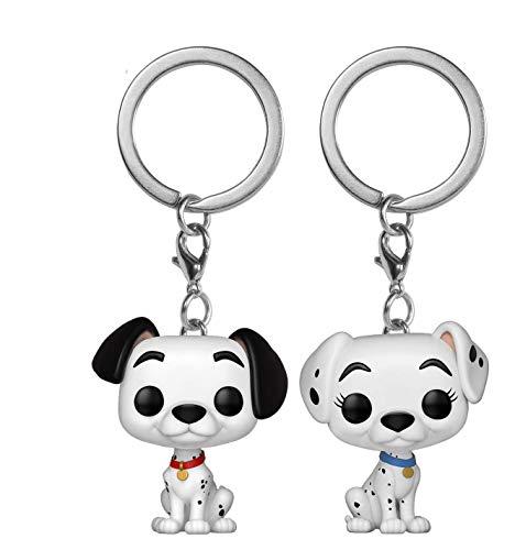 Funko Pop! Disney 101 Dalmatians - 2 Keychains Pongo