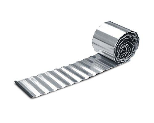 In acciaio zincato per prato in rotolo - H16, 5 cm x L5m
