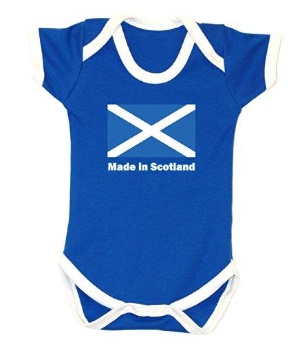 Badass Babies Hergestellt In Schottland Strampler Gr. 6-12 Monate, Royal Blue/Weiß
