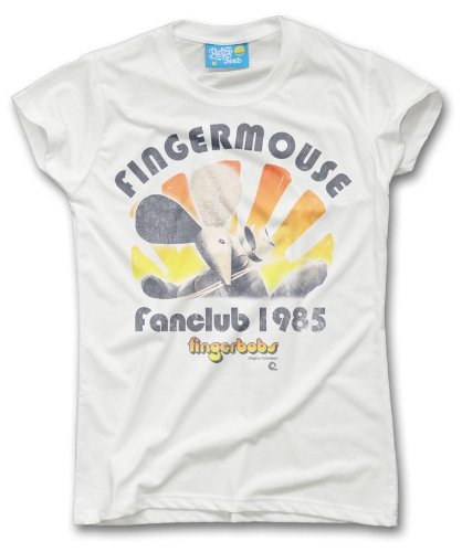 Ladies Finger Mouse Fanclub 1985 T-shirt. Sizes 6 to 16