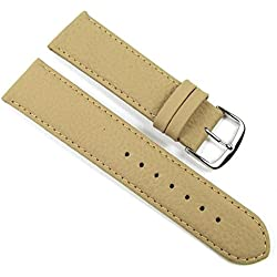 Birkenstock Imperator Replacement Band Watch Band Leather Kalf waterproof Beige 20665S, width:12mm