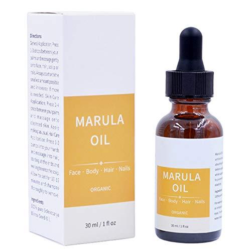 Cocohot Huile Biologique de Marula, Sérum Nourrissant Anti-Oxydant Hydratant pour le Visage, le Corps et les Cheveux - Complete Organics de InstaNatural 30 ml