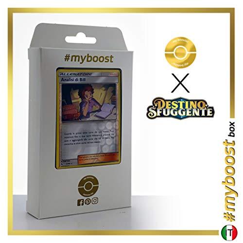 Analisi di Bill (Análisis de Bill ) 51/68 Holo Reverse - #myboost X Sole E Luna 11.5 Destino Sfuggente - Box de 10 cartas Pokémon Italiano