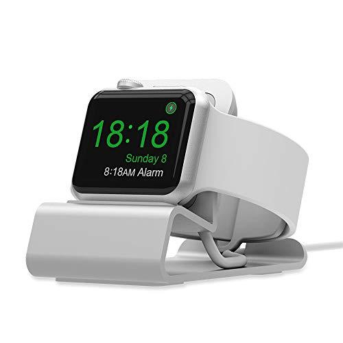 TianranRT Ladegerät Halter Cradle Halterung Lade Dock Stand Station Ladestation für Apple Watch iWatch (Dock-line-halter)