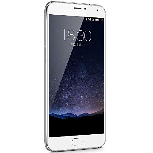Meizu Pro 5 Smartphone, Memoria 64 GB, Bianco/Argento [EU]