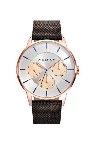 Viceroy Reloj Multiesfera para Hombre de Cuarzo con Correa en Nailon 471143-07