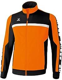 erima 5 Cubes Sport Men's Jacket rouge Rouge - Rouge/noir/blanc