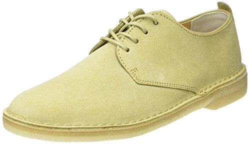 Clarks Originals Desert London, Derby Homme Beige (Maple)