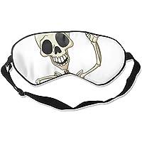 Happy Skelett Travel Home Schlafmaske Cute Shading Eyeshade preisvergleich bei billige-tabletten.eu