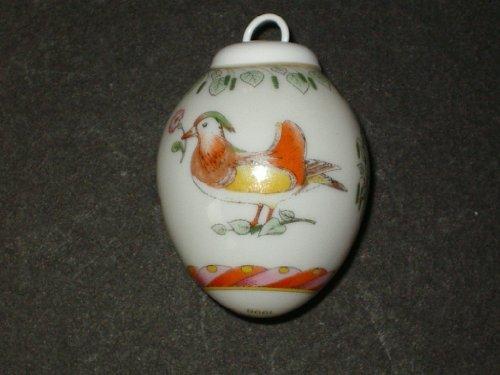Hutschenreuther - Porzellan Miniatur Ei 1998 -...