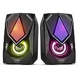 Artis S21 2.0 Channel Stereo USB Multimedia Speaker (Black)